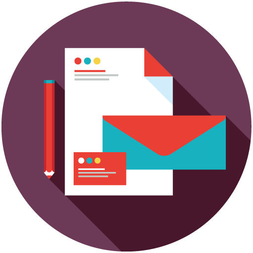 Email Template Design Icon
