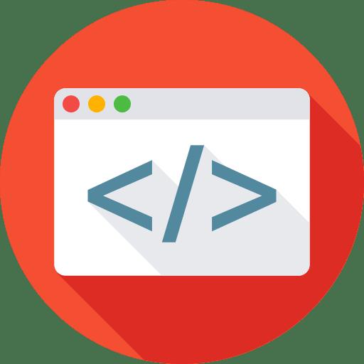 Static website Design & Development Icon